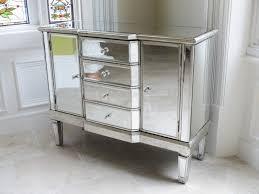 mirrored venetian glass cabinet