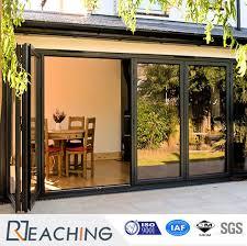 interior bifold door glass folding door