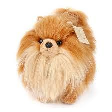 pomeranian dog pet plush doll stuffed
