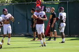 ASU Football: Marcus Ball balances football and fatherhood ...