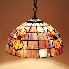 tiffany style seashell pendant lamp