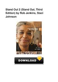 PDF) Stand Out 2 Stand Out Third Edition by Rob Jenkins Staci ...