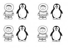 Eskimo Pinguin Kleuteridee Nl Free Printable Met Afbeeldingen