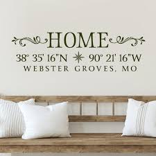 Hometown Pride Wall Decal Coordinates Sign Old Barn Rescue