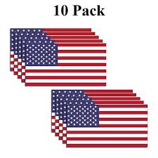 10 American Flag Decal Usa Sticker Car Truck Window Bumper Small United States Ebay