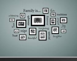 Family Is Wall Decal Family Decor Decals For Picture Wall Gal Stephen Edward Graphics