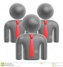 Team il simbolo illustrazione di stock. Illustrazione di collare - 5776268
