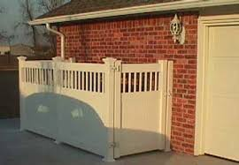 Trash Bin Container Fence Midland Vinyl Products