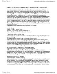 SOC227 Lecture Notes - Winter 2014, - Lindy Chamberlain-Creighton ...