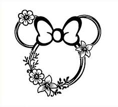 Disney Inspired Car Decal Laptop Sticker Phone Decal Mug Decal Glass Decal Disney Decals Glass Decals Disney Tattoos