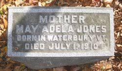 May Adele Bryan Jones (1844-1910) - Find A Grave Memorial