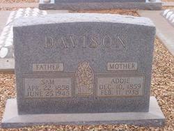 Addie Allen Davison (1859-1938) - Find A Grave Memorial