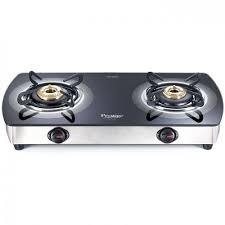 prestige two burner gas stove