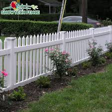 China Used White Plastic Pvc Garden Field Outdoor Picket Fence China Plastic Fence Pvc Fence