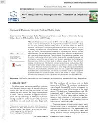 pdf novel delivery strategies for