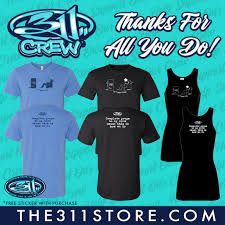 311 On Twitter 311 Tour Crew Are The Backbone Of Our Tour Operations Have Made For A Longstanding Family With Touring Currently At A Pause All Proceeds From This Merch Goes