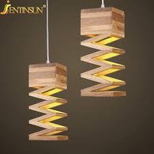 modern lamps pendant lights wood lamp