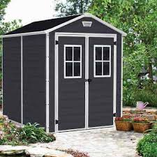 manor 6x8 garden shed 1 85m x 2 36m