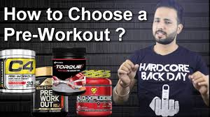 how to choose a pre workout supplement