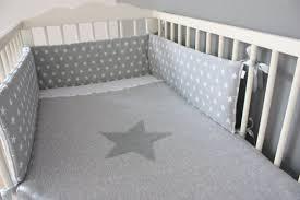 baby cot per grey cot per stars