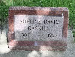 Adeline Davis Gaskill (1907-1955) - Find A Grave Memorial