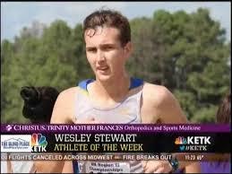 Wesley Stewart: Christus Trinity Mother Frances Orthopedics & Sports  Medicine Athlete of the Week