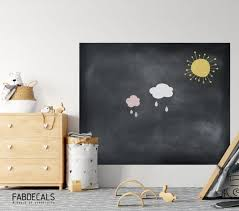 Chalkboard Decal Play Room Decor Blackboard For Kids Wall Etsy