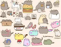 pusheen the cat wallpapers top free