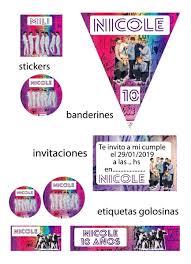 Bts Kit Cumpleanos Y Candybar Imprimible Oferta Combo 299 00