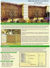 Brush Fence Panels Home Ideas Centre