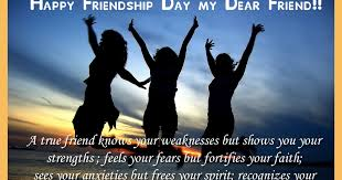 happy friendship day my dear friend quotes images all top