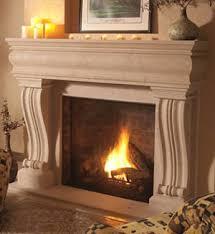 cast stone fireplace mantels hand