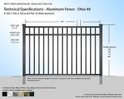 Aluminum Fence Heavy Duty Aluminum Fence Panels Factory Direct