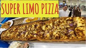 pizza hut dinner treat super limo
