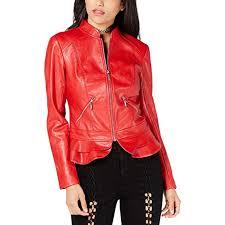 kate flirty faux leather jacket