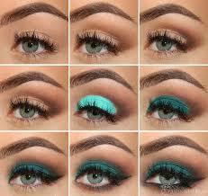 emerald green eye makeup tutorial