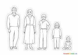 gia đình có 5 người gồm: bố - mẹ - anh - chị và em
