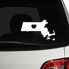 Amazon Com The Decal Guru 1540 Car 02 W White 10 H X 17 W Car Window Decal Sticker Automotive