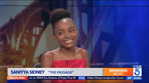 "Saniyya Sidney on New Show ""The Passage"" - YouTube"