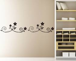Wall Border Vinyl Wall Art Border Decals Removable Wall Border Stickers