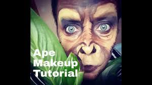affen monkey makeup tutorial