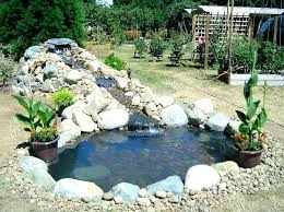 waterfall ideas for small ponds