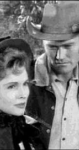 """The Rifleman"""" The Woman (TV Episode 1959) - Patricia Barry as ..."""