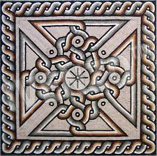 ancient roman mosaic patterns 800x796
