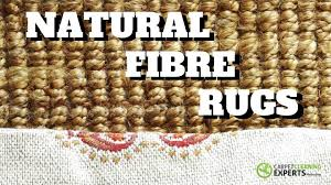 how to clean natural fibre rugs