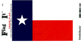 Texas Flag Decal Sticker Durable Vinyl From Flags Unlimited Us Flags