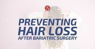 hair loss after bariatric surgery