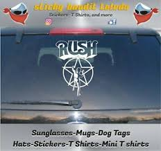 Rush 8 Inch Window Vinyl Decal Sticker Ebay