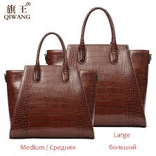qi women genuine leather bags