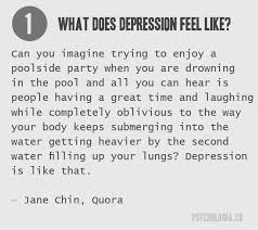 what does depression feel like powerful quotes that describe